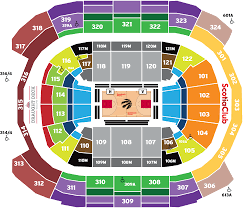 Air Canada Centre Seating Chart Hockey Scotiabank Arena Seating Map Toronto Raptors