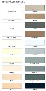 Grout Chart Mapei Grout Colors Ssnbs Co