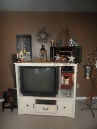 Primitive Decorating For Living Room My Diy Entertainment Center And Primitive Decorations Simple
