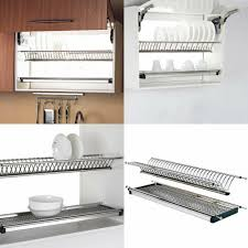 sus 304 stainless steel dish rack wall