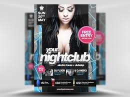 nightclub flyers 95 free flyer templates photoshop psd download layerbag