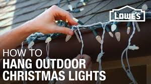 How To Hang Christmas Lights With Command Strips How To Hang Exterior Christmas Lights