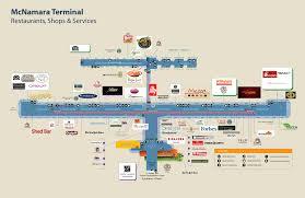 detroit airport mcnamara terminal  emaps world