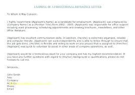 Letters Of Reference For A Job Sample Recommendation Related Post Employee Recommendation