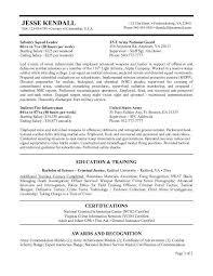 Army Resume Builder 2018 Beauteous Resume Builder Military Sample Army Resume Veteran Federal Resume