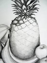 realistic pineapple drawing. source realistic pineapple drawing