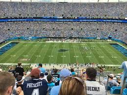 Bank Of America Stadium Section 515 Home Of Carolina Panthers