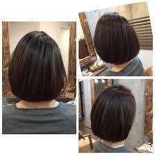 30代の女性に人気な髪型ボブスタイルボブ