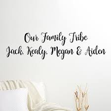 buy custom wall decals and write your own message choose color font and add your own text free personalization fast shipping  on personalized vinyl wall art message with custom wall decals write your own