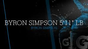 "Byron Simpson 5'11"" LB - Byron Simpson highlights - Hudl"
