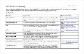 Marketing Strategy Templates 20 Pdf Word Format
