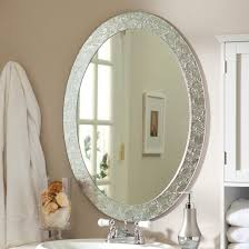 Amusing oval bathroom decoration wall mirrors And also the fabulous