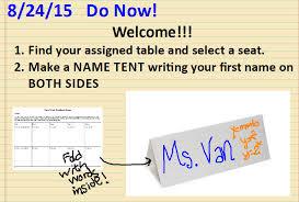 name tent week 1 day 1 name tents with feedback sara vanderwerf