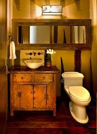 rustic bathroom lighting. Bathroom Vanities Ideas Powder Room Rustic With Lighting