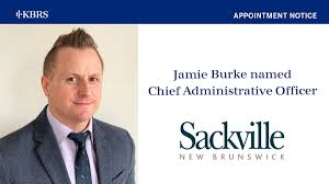 FYI: Town of Sackville Appoints Jamie Burke as Chief Administrative Officer  | KBRS - Knightsbridge Robertson Surrette