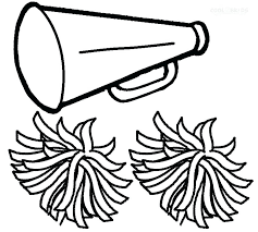 Coloring Pages Cheerleader Coloring Pages Free Printable Of Pom