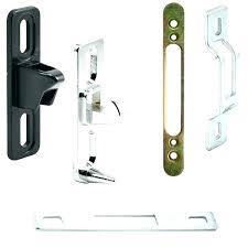 screen door latch and pull screen door latch strike sliding door locks latch strikes keepers sliding screen door latch and pull sliding