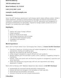 Download Net Developer Resume