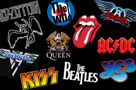rock bands logo vote the rank