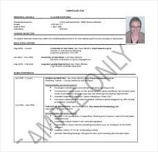 professional resume templates for word 25 word professional resume template free download free