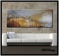 Amazon.com: Extra Large Modern Abstract Canvas Wall Art. Limited Edition,  Hand Embellished Giclee on Canvas, HUGE! 60 x 24 x 1.5 Ready to Hang!