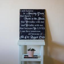 16 In X 19 In I Still Believe In Amazing Grace By Boulder Innovations Printed Wood Wall Art