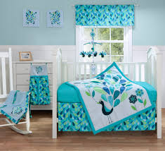 bananafish baby monster infant bedding peacock room hires