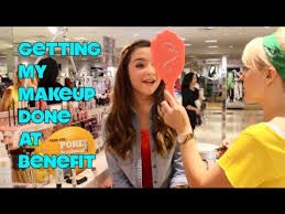 getting my makeup done at benefit their new makeup mickieray22 you