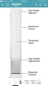 cat door for a sliding glass door for in pleasanton ca