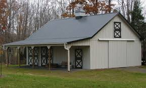 pole barn metal siding. Pole Barn Steel Siding Dubious Wood Vs Metal Which Is Best For Your Horse Conestoga Buildings