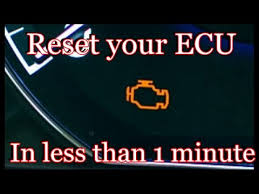 how to reset your ecu in less than 1