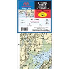 Maptech Folding Waterproof Chart Boothbay