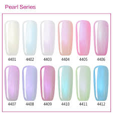 Pearl Color Chart Color Chart Show Only Pearl Gel