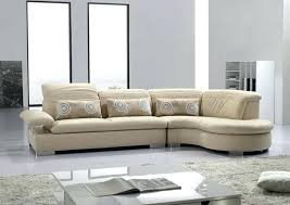 interesting modern cream leather sectional sofa sectionals couch colored