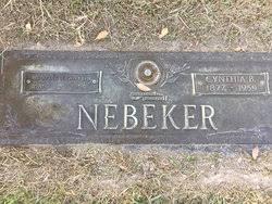 Cynthia Benson Nebeker (1877-1959) - Find A Grave Memorial