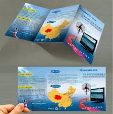 Low Price Custom Designdl A4 A5 A6 Glossy Paper Leaflet Flyer