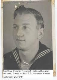 Ivan Grant Gehrmann (1923 - 1963) - Genealogy