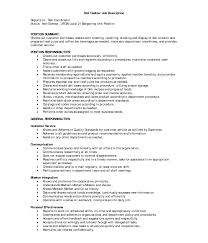 Resume For Cashier Job Cashier Duties And Responsibilities Resume Retail Inside Jobption 72