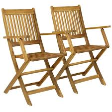 outdoor wooden chairs with arms. Wooden Outdoor Dining Patio Foldable Armchairs Chairs With Arms T
