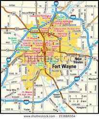 fort wayne indiana area map stock vector 153666554 shutterstock Ft Wayne Indiana Map fort wayne, indiana area map fort wayne indiana map