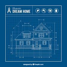 Small Picture House blueprint Vector Free Download