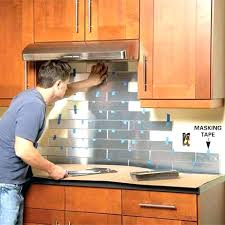 Kitchen Backsplash Installation Cost Gorgeous Cost To Install Kitchen Backsplash Cost To Install Kitchen