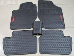 green car floor mats. 66.60$ Buy Here - Dedicated No Odor Rubber Car Floor Mats Green Latex  Carpets For Citroen Sega C5 Environmental Protection Pads 5seats #buyonlinewebsite O