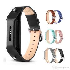 fitbit flex 2 tracker band genuine leather fashion accessory wristband bracelet strap replacement with secure watch buckle and fastener leather strap watch