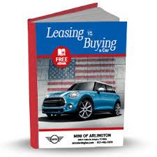 Lease Vs Buy A New Car Leasing Vs Buying A Car Arlington Tx Mini Of Arlington