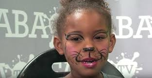easy cat face paint quick and easy kitty cat face paint makeup tutorial silly heather easy