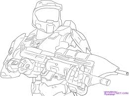 Small Picture Free Printable Halo Coloring Pages For Kids with regard to Master