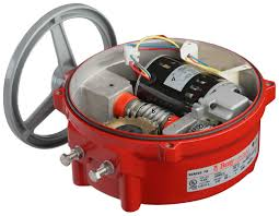 electric actuator series modulating or on off series 70 motor drive shaft