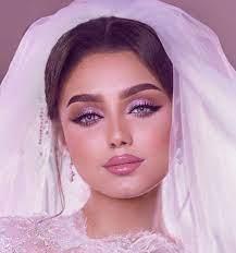 beautiful arab bridal makeup arabia