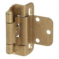3 8 Offset Cabinet Hinges Self Closing Partial Wrap Cabinet Hinge 3 8 Inset Set Of 2